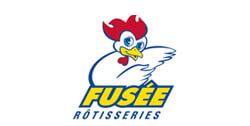 Fusée rôtisserie logo