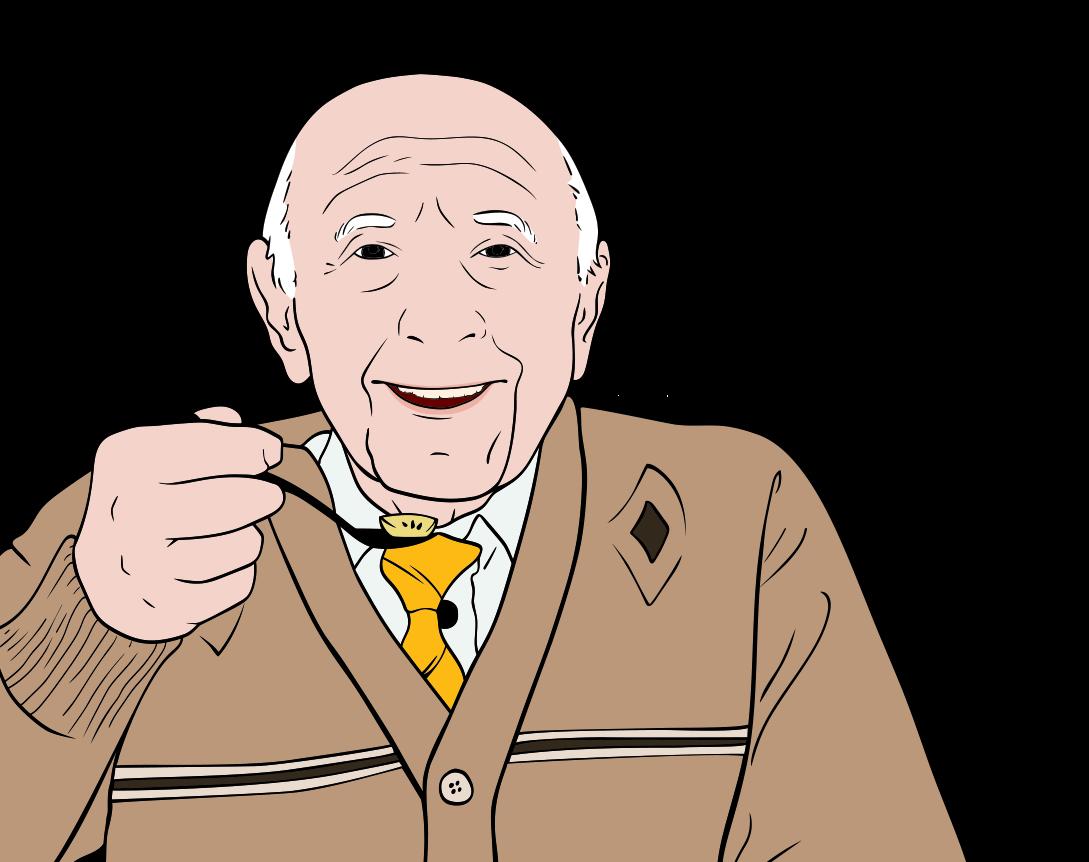 illustration Vieil homme